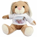 Hase Bunny mit Foto T-Shirt